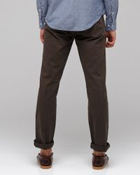 Life After Denim - Green Slim Fit Chino in Olive for Men - Lyst