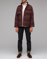 Obey | Brown Iggy M65 Military Jacket for Men | Lyst