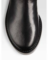 Ann Demeulemeester | Black Riding Boot | Lyst