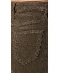 MINKPINK Green Forever Corduroy Shorts
