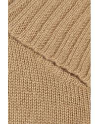 Ralph Lauren Collection Natural Long-sleeve Cashmere Turtleneck