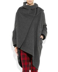 Vivienne Westwood Red Label - Gray Oversized Wool-blend Coat - Lyst