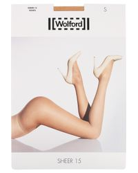 Wolford - Natural Satin Touch 20 Denier Tights - Lyst