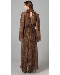 BCBGMAXAZRIA | Multicolor Robin Maxi Dress | Lyst