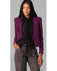 Robert Rodriguez - Purple Short Bow Jacket - Lyst