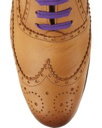 Esquivel - Brown Davis Leather Brogues - Lyst