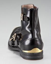 Alexander McQueen   Black Monk-strap Boot for Men   Lyst