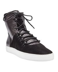 Android Homme The Discovery Boot in Shuttle Black for men