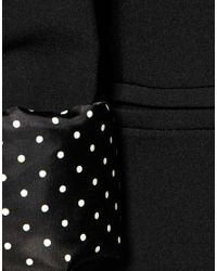 ASOS Collection | Black Asos Boyfriend Blazer | Lyst