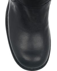 Fiorentini + Baker Black Cusna Leather Boots