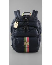 Juicy Couture | Blue Airbag Backpack | Lyst