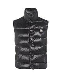 Moncler Black Tib Gillet Down Vest for men
