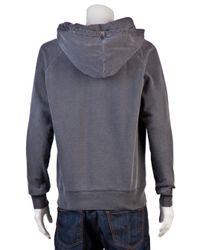 Rxmance Black Vintage Work Sweat W/hood for men