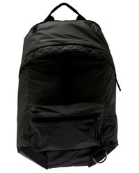 Y-3 | Black Fabric Backpack for Men | Lyst
