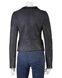 Closed Black Dane Leather Jacket