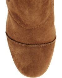 J.Crew - Brown Greer Suede Wedge Ankle Boots - Lyst