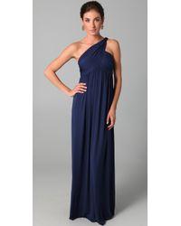 Rachel Pally | Blue Twist Shoulder Dress | Lyst