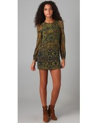 Twelfth Street Cynthia Vincent | Green Buckeye Sedona Print Shift Dress | Lyst