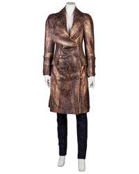 Vivienne Westwood Red Label - Brown Herringbone Coat - Lyst