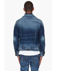G-Star RAW | Blue Arc Western Jacket for Men | Lyst