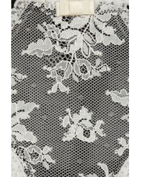 Myla Black Versense Lace and Mesh Thong