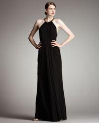 Robert Rodriguez Jennifer Halter Gown, Black