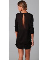 3.1 Phillip Lim - Black Illusion Back Dress - Lyst