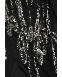 Alberta Ferretti - Black - Beaded Lace Dress - Women - Silk/cotton/polyamide/rayon - 40 - Lyst