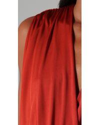 Black Halo | Red Jill Mini Dress | Lyst