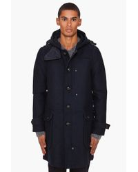 G-Star RAW | Blue Re Duffle Coat for Men | Lyst