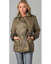 Marc By Marc Jacobs | Green Kent Down Puffer Coat | Lyst