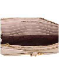 Marc By Marc Jacobs | Natural Petal To The Metal Zip Clutch Fa11 D3 | Lyst