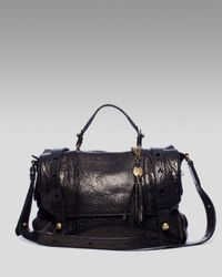 Olivia Harris | Black Oversized-stud Messenger Bag | Lyst