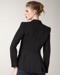 Smythe - Black Piped Blazer - Lyst