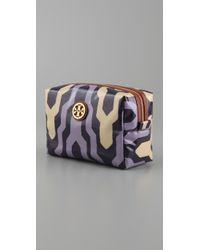 Tory Burch - Purple Brigitte Cosmetic Case - Lyst