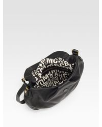 Marc By Marc Jacobs | Black Classic Q Natasha Crossbody Bag (large) | Lyst