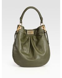 Marc By Marc Jacobs | Green Classic Q Hillier Hobo | Lyst