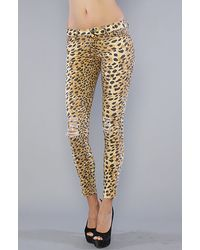 MINKPINK Multicolor The Jagger Printed Jean