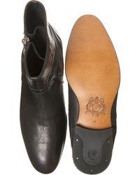 H by Hudson Black Bekker Pull On Boots for men
