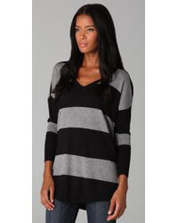 Joie | Black Cheyenne Striped Sweater | Lyst