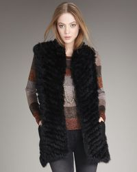 Marc By Marc Jacobs - Black Hayworth Long Vest - Lyst