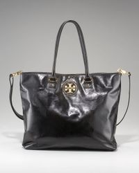 Tory Burch | Black City Tote | Lyst