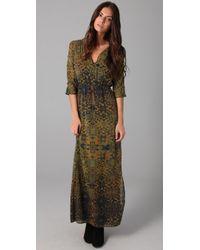 Twelfth Street Cynthia Vincent | Green Dolman Maxi Dress | Lyst