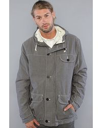 Wesc | Gray The Edison Jacket in Chambray Black for Men | Lyst