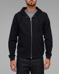 Cheap Monday - Black Luike Zip Hood for Men - Lyst