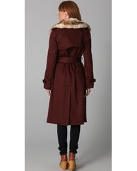 Marc By Marc Jacobs - Brown Penn Trench Coat - Lyst