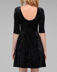 MINKPINK | Black The Craft Velvet Dress | Lyst