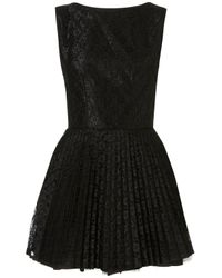 Topshop | Black Vivienne Dress By Jones and Jones** | Lyst