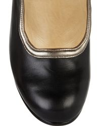 DKNY Black Mary Lace-up Leather Ankle Boots
