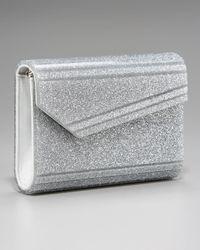 Jimmy Choo | Metallic Candy Glitter Clutch | Lyst